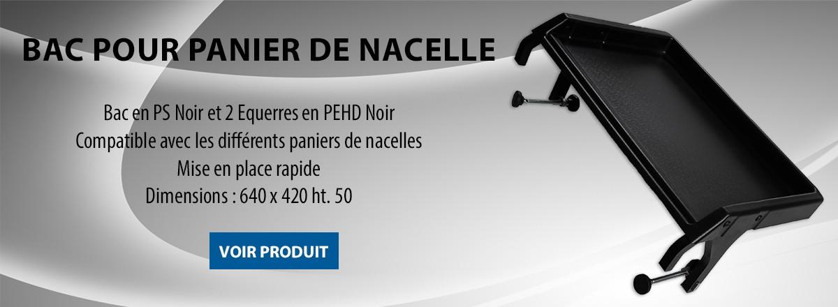 BAC POUR PANIER DE NACELLE